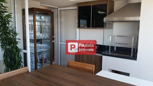 Apartamento Com 2 Dormitórios À Venda, 100 M² Por R$ 970.000,00 - Chácara Santo Antônio (zona Sul) - São Paulo/sp - Ap30442
