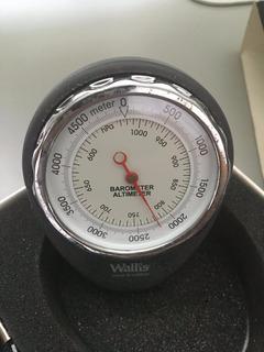 Altimetro Barometro Wallis Ab270301