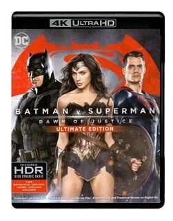 Batman Vs Superman 4k Ultra Hd + Blu-ray + Digital Hd
