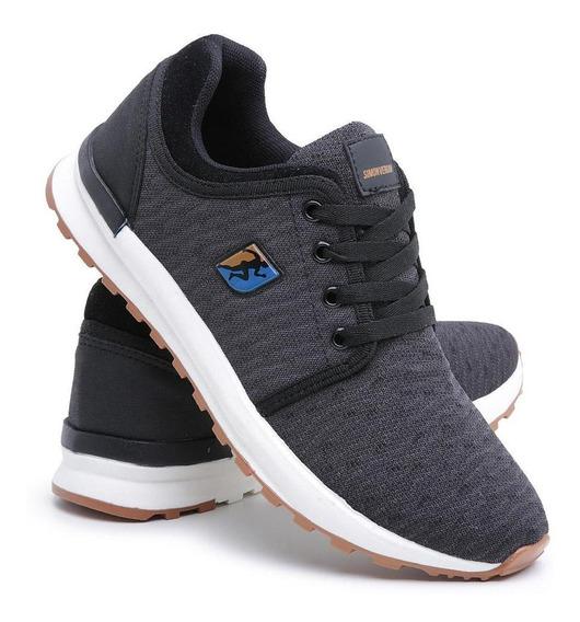 Tênis Sneaker Jogger Casual Macio Conforto Dia A Dia