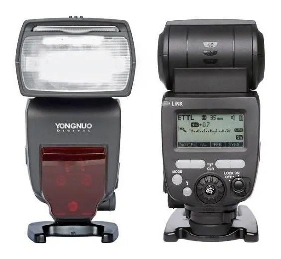 Flash Yongnuo Speedlite Ttl Yn-685 Para Nikon + Nota Fiscal
