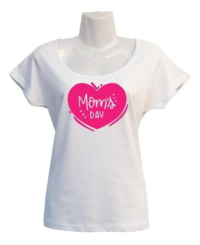 Imagen 1 de 2 de Polera Mom's Day - Dia De La Madre - Regalo Con Amor