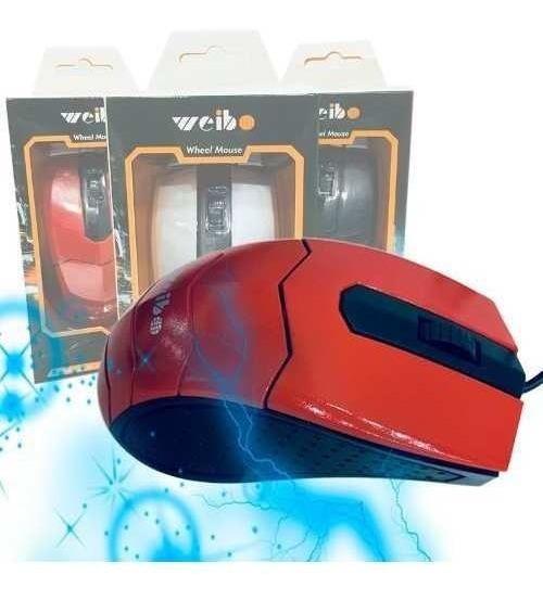 Kit 5 Mouse C/fio Usb Óptico-oferta - Frete Grátis - 124014