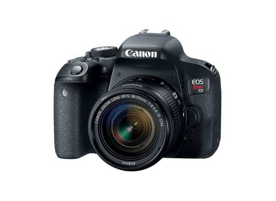 Câmera Canon Eos Rebel T7i 800d Dslr C/ Lente 18-55mm