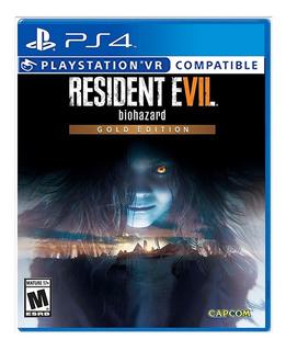 Resident Evil 7 Gold Edition Ps4 Nuevo Modo Vr Envio Gratis