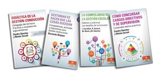 Gestión Educativa Escuela Supervisión 4 Libros (ne)