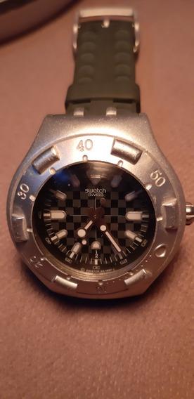 Relogio Swatch Irony Modelo Scuba Ñ Casio Ñ Ctz Ñ Orient