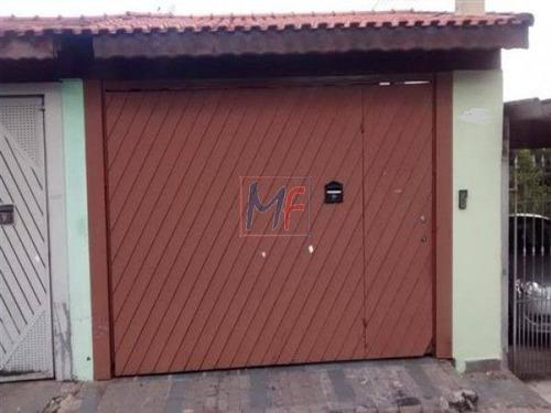 Imagem 1 de 7 de Ref: 3543 - Lindo Sobrado No Bairro Jardim Santa Cruz, Acabamento De Grafiato Com Churrasqueira, 3 Dorms (1 Suíte), 4 Vagas, Área De Lazer. - 3543
