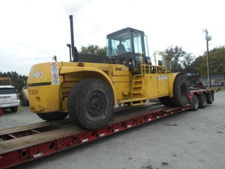 Montacargas Hyster 62000 Lbs
