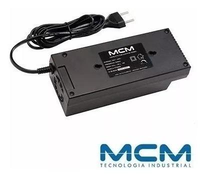Fonte Estabilizada 12v 10a Mcm Compacta Ideal Para Cftv.