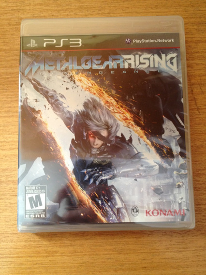 Metal Gear Rising: Revengeance Ps3 Lacrado Midia Fisica