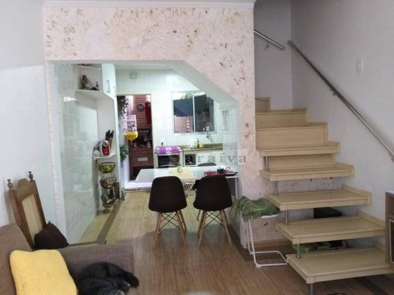 Sobrado Com 2 Dormitórios À Venda, 75 M² Por R$ 300.000 - Paulicéia - São Bernardo Do Campo/sp - So0441