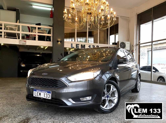 Ford Focus Iii Se Plus 2.0n 5ptas Mt Full-full, Anticipo $