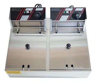 Freidora Electrica Doble Deposito 12litros 2500w