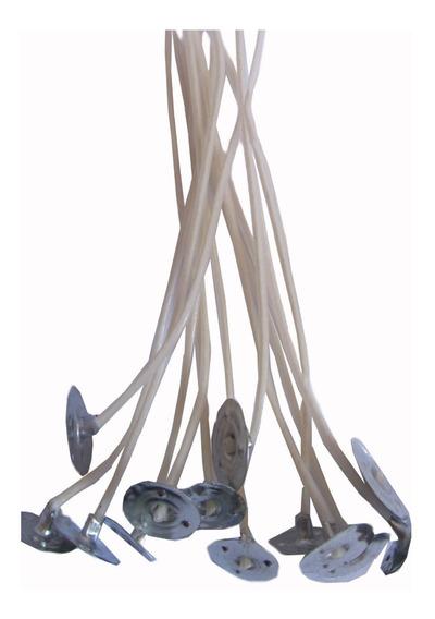 100 Uni Pavio P/ Velas Decorativas De Parafina 18cm Altura