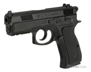 Pistola Airsoft Asg Cz75 Compact 6mm Resorte - Local Palermo