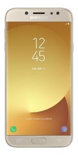 Samsung Galaxy J7 Pro Dourado Com Android 7.0 Octcore