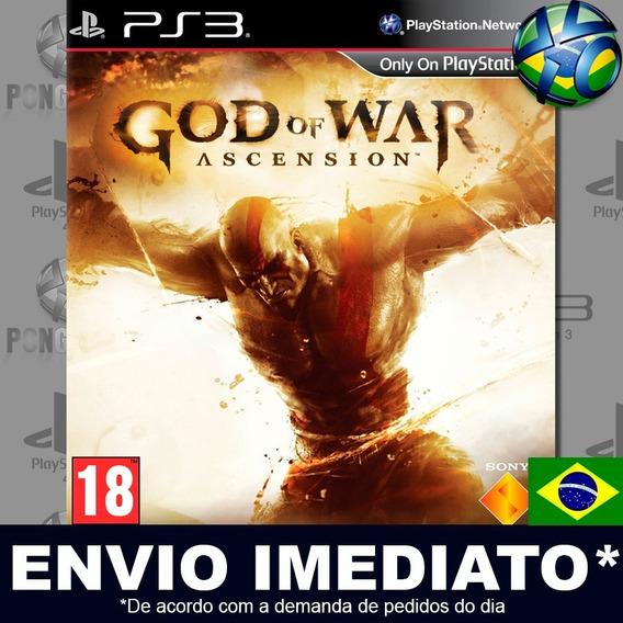 God Of War Ascension Ps3 Psn Dublado Português Br Promoção