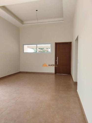 Casa Com 3 Dormitórios À Venda, 174 M² Por R$ 735.000,00 - Portal Da Mata - Ribeirão Preto/sp - Ca2006