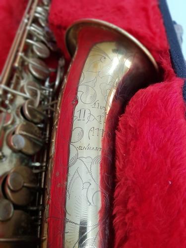 Sax Alto Martin Committee Ill Original Vintage Sax, Usa.