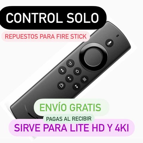 Control Remoto Amazon Fire Tv Stick Solo