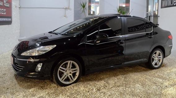 Peugeot 408 Sport 16 3cv Negro 2012 Nafta En Muy Buen Estado