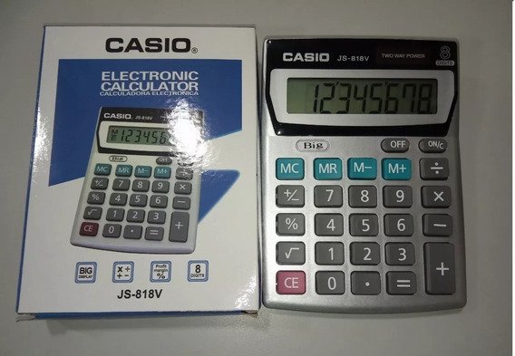 Calculadora Casio Js-818v Mayor Y Detal Oferta