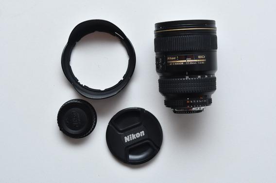 Lente Af-s Nikon 17-35mm F/2.8 D