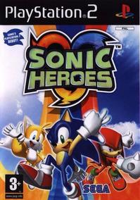 Sonic Heroes Play 2 Frete Grátis Leia O Anúcio