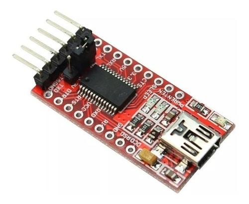 Placa Interfaz Usb Ttl Ft232 Ftdi Ft232rl Adaptador Arduino