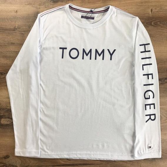ca428c9a406f Camiseta Manga Longa Tommy - Calçados, Roupas e Bolsas com o ...