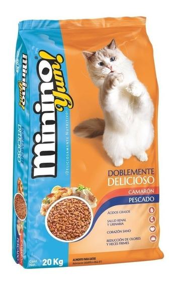 Minino Yum Alimento Para Gato 20 Kg
