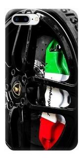 Funda Case iPhone 5 6 7 8 X Plus Rin Lamborghini Carros