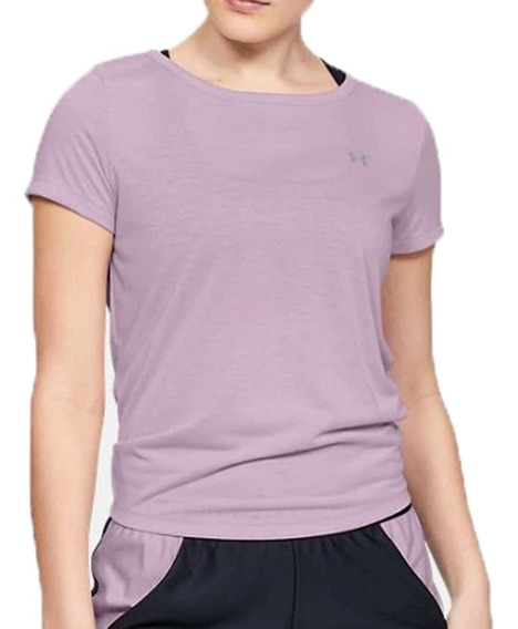 Remera Under Armour Training Ua Whisperlight Mujer Li
