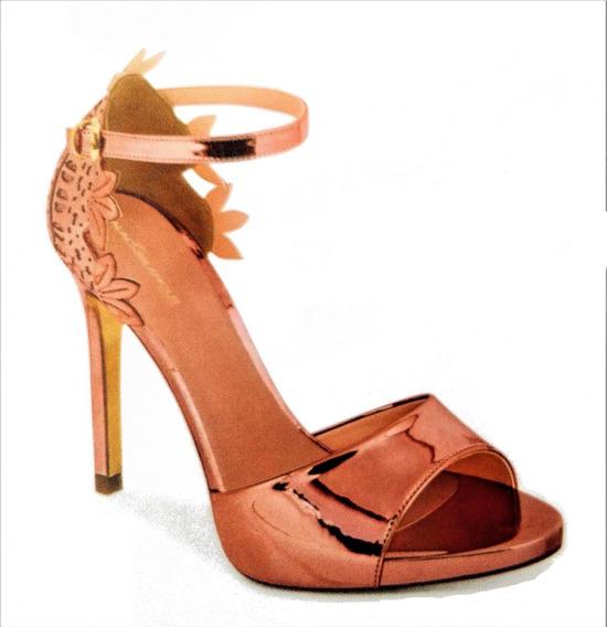 Zapatillas Para Dama Cklass, Modelo 499-63, Color Oro-rosado