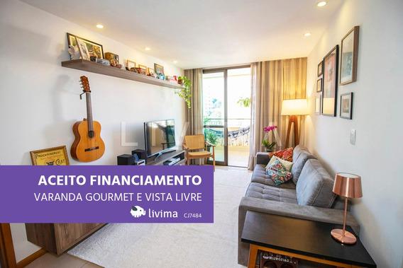 Apartamento À Venda Na Rua Professor Otacílio, Santa Rosa, Niterói - Rj - Liv-2918