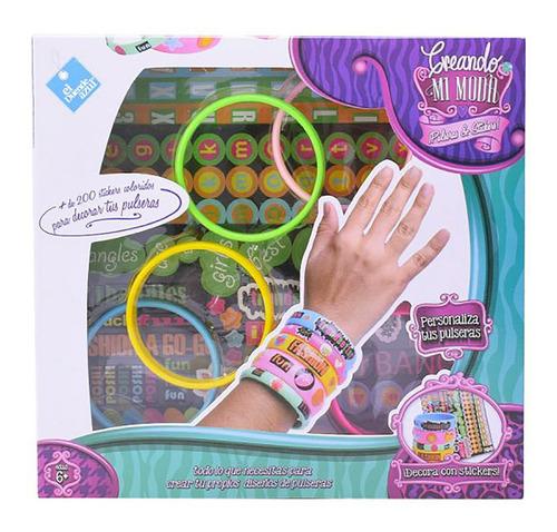 Imagen 1 de 8 de Juego Pulseras Para Decorar Stickers Nena New 7262 Bigshop