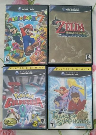 Mario Zelda Pokémon E Tales Game Cube
