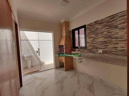 Imagem 1 de 17 de Casa Com 3 Dormitórios À Venda, 125 M² Por R$ 490.000 - Parque São Domingos - Pindamonhangaba/sp - Ca6169