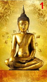 Vinil Mural Buda Decorativo 2.50 X 1.40 Mts. Sala Recamara