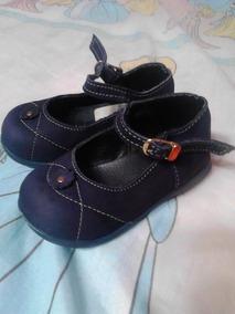 49b43ca874f Zapatos De Niñas Talla 21 Azul Oscuro Marca Gigetto Usados