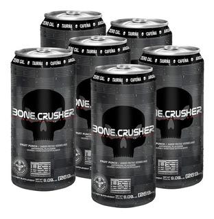 Energético Bone Crusher 269ml - 6 Un / Cafeína / Taurina