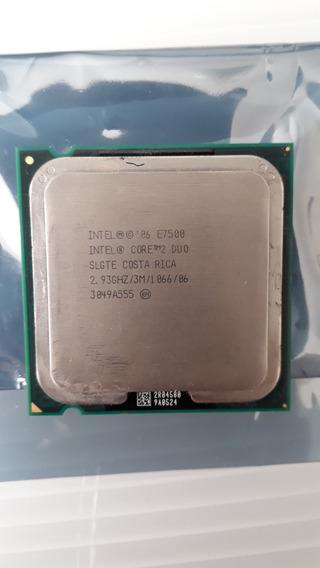Processador Core 2 Duo E7500 2.93ghz Socket Lga 775 Fsb 1066