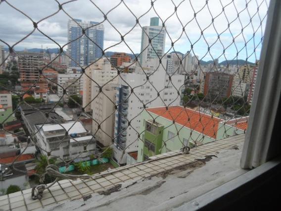 Kitnet Para Alugar, 35 M² Por R$ 1.300,00/ano - Aparecida - Santos/sp - Kn0463