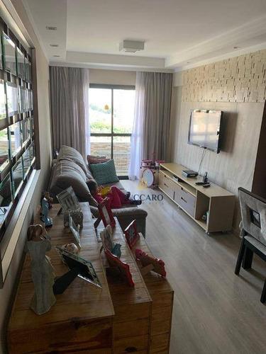 Apartamento À Venda, 90 M² Por R$ 520.000,00 - Vila Rosália - Guarulhos/sp - Ap16322