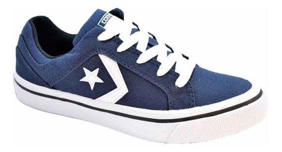 Zapatillas Converse Distrito Ox Gris O Azul