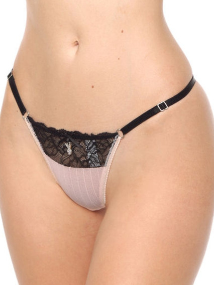 Colales Regulable Encaje Hilo Dental Playboy Intimates 2344a