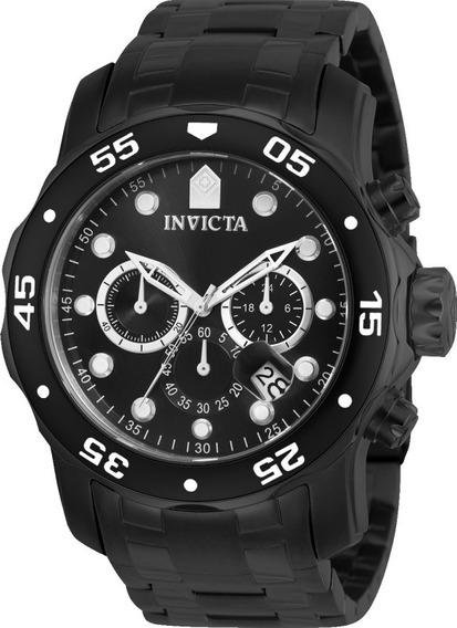 Relógio Invicta Pro Diver 0076 Preto Original Frete Grátis.