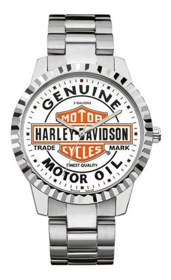 Relogio Harley-davidson Genuine Motor Oil