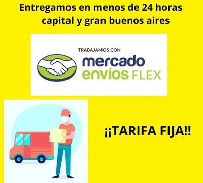 Envíos En El Día Mercado Envios Flex Amplísimo Rango Horario